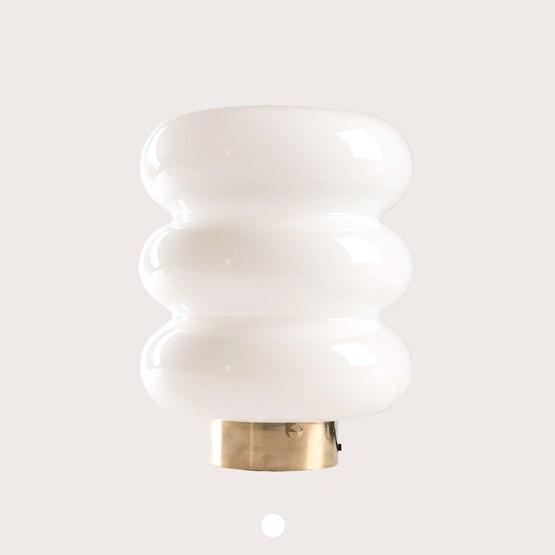 Lampe de table BIBE - verre  - Design : Embassy interiors