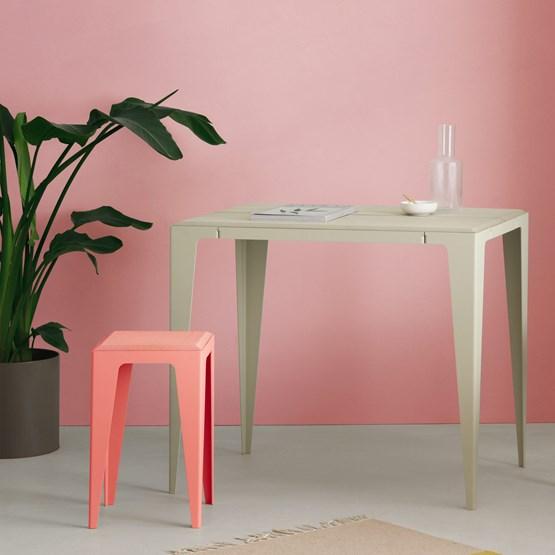 Gueridon CHAMFER - Gris Soie  - Design : WYE Design