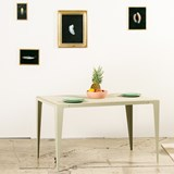 Table CHAMFER -  Gris Soie  2