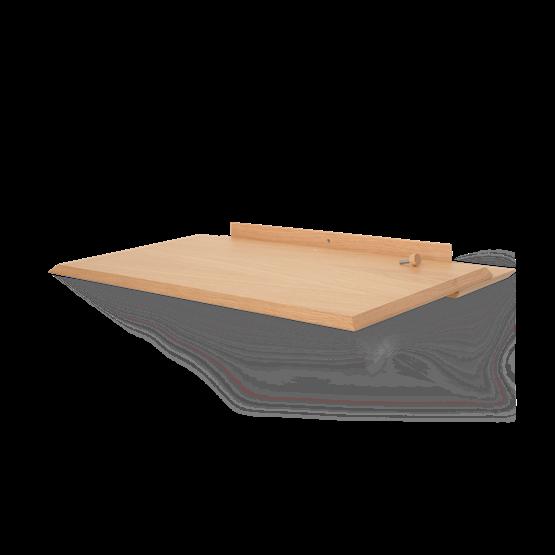 ALADA bureau pliant flottant - chêne - Design : WOODENDOT