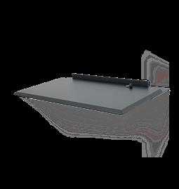 ALADA floating folding desk - Black