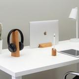 Risco, Loma and Mallo Desk Accessories Combo - Oak 6