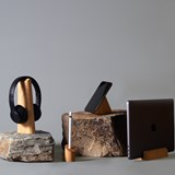 Risco, Loma and Mallo Desk Accessories Combo - Oak 7