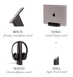 Risco, Loma, Mallo and Sima Desk Accessories Combo - Black