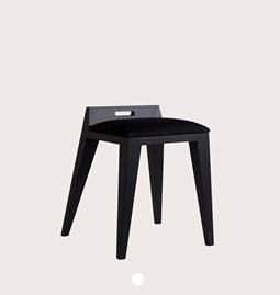 Tabouret OM 16.2 - frêne noir/black