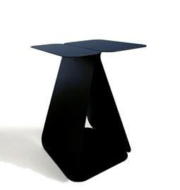 Table YOUMY rectangulaire asymétrique - noir anodique