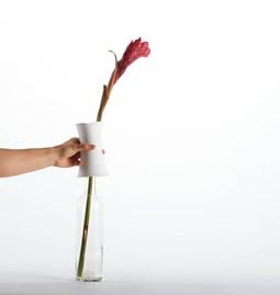 Vase Switch - porcelaine blanc
