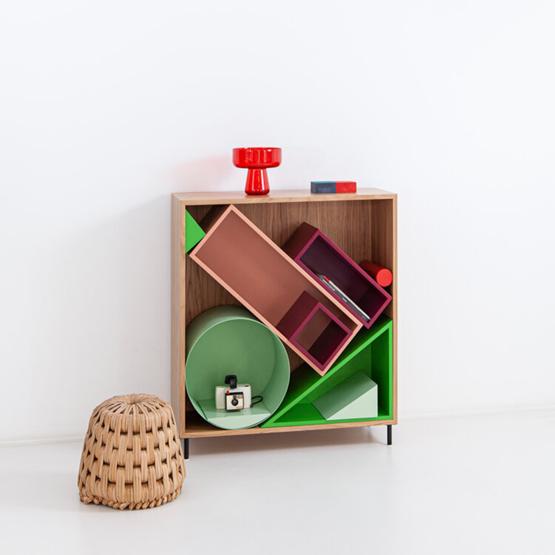 SANDBOX cabinet   oak - Design : Porventura