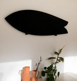 Surfboard monochrome - pine black