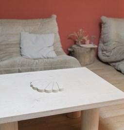 COQUILLAGE Wood trivet
