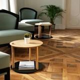 Petite table ronde by Constance - Métal brut 2