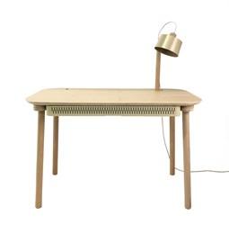 Bureau, tiroir & lampe by désiré - Laiton Vieilli