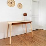 Bureau, tiroir & lampe by désiré - Métal brut  2