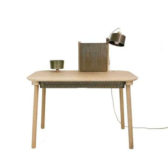 BUREAU COMPLET by Adèle  - Métal brut - Design : Dizy