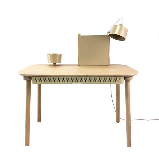 BUREAU COMPLET by Adèle  - Laiton vieilli - Design : Dizy