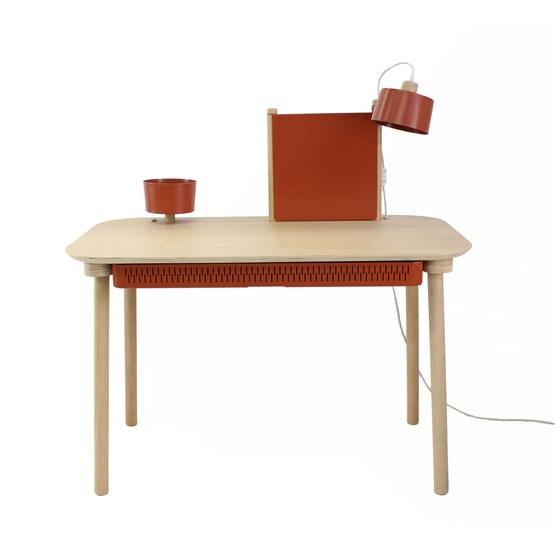 BUREAU COMPLET by Adèle  - Terracotta - Design : Dizy