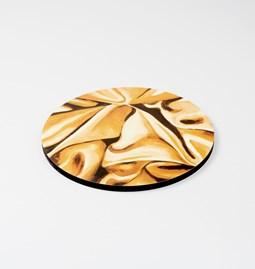 Dessous de plat DRAPÉ - Jaune