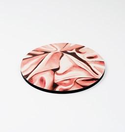 Dessous de plat DRAPÉ - Rose pâle