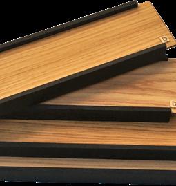 Wooden presentation tray