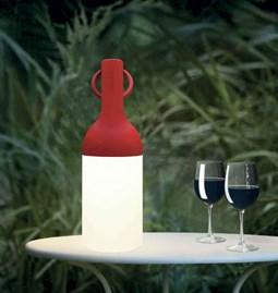 ELO outdoor lamp - red