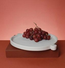 Plat de service en céramique - UltraBold - blanc