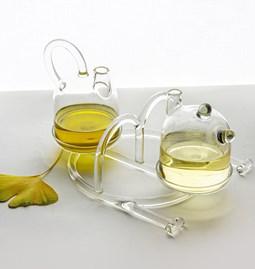 oil & vinegar cruet - Sio2 - Glass tableware