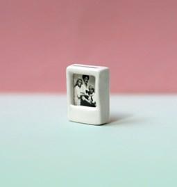 Mini wall art POLAROID - white