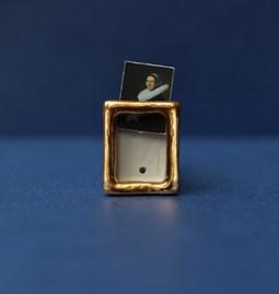 Mini wall art CHARLEY - Gold