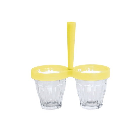 Ramekin DUO DE CHOC Yellow - Design : 5.5 Designers