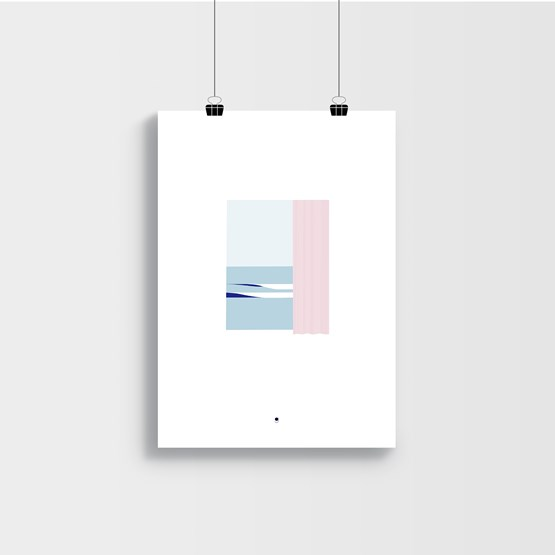 Beach - Posters - Design : Géraldine Brunet Design