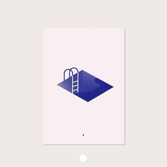 PISCINE - Affiche  - Design : Géraldine Brunet Design