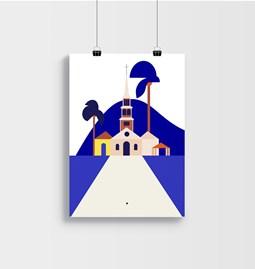 FORT DE FRANCE - Affiche