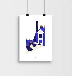 EIFFEL TOWER - Affiche