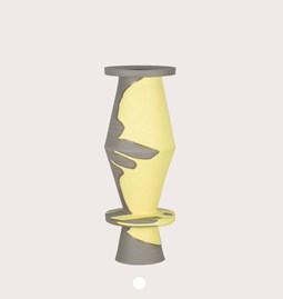 Vase 21/10 - two-tone stoneware
