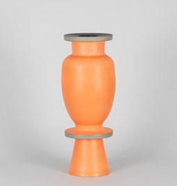 Vase 21/13 - two-tone stoneware