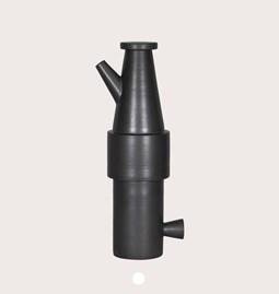 Jug 18/25 - black stoneware