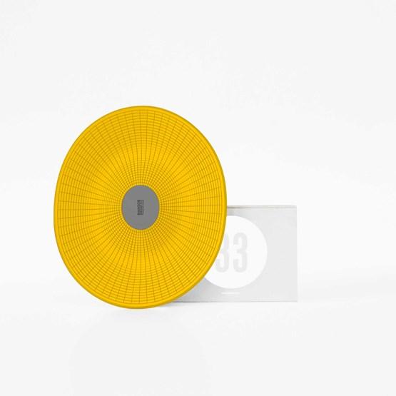 MANGOS yellow basket - Designerbox - Design : François Dumas