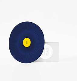 MANGOS blue basket - Designerbox