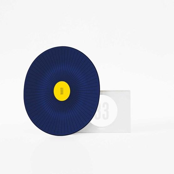 MANGOS blue basket - Designerbox - Design : François Dumas