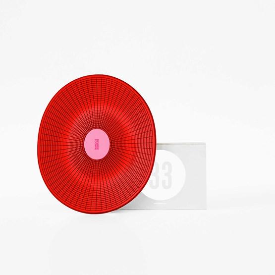 Corbeille MANGOS Rouge - Box 33 - Design : François Dumas