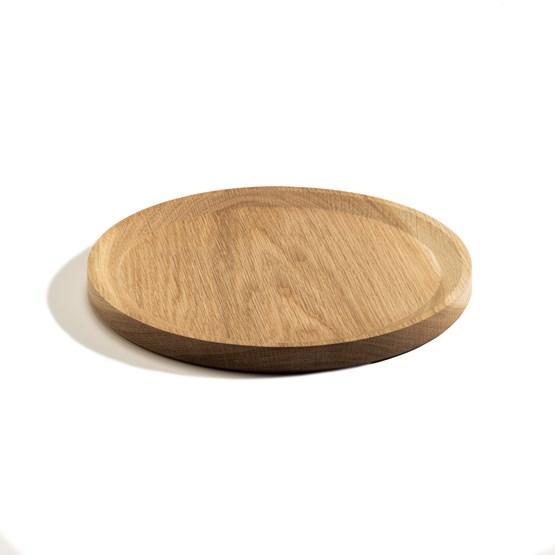 Assiette BEST set de 3 assiettes - chêne  - Design : TU LAS