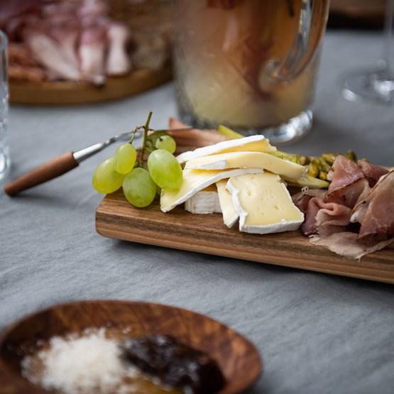 Assiette BEST set de 3 longues assiettes -  noyer  - Design : TU LAS