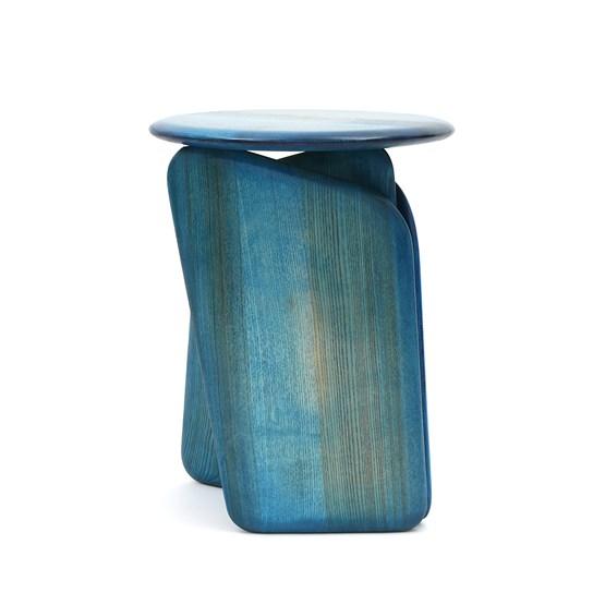 Tabouret Vent Contraire bleu - Design : Brichet Ziegler