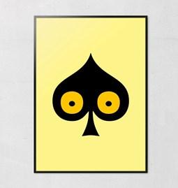 Pokerface Poster - SPADE