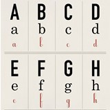 Alphabet guide wallpaper 6