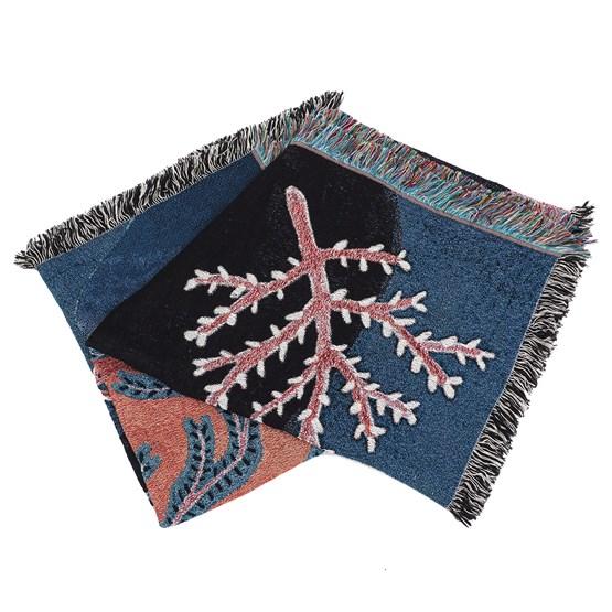 Plaid PRAIRIE SOUS MARINE - Design : Coco Brun