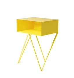 Mini table d'appoint ROBOT -  jaune
