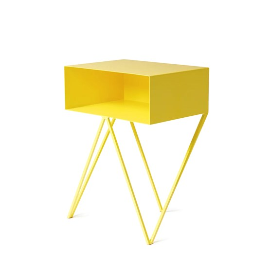 Mini Table D Appoint Robot Jaune And New Designerbox