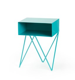 ROBOT side table - Turquoise