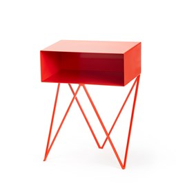 Mini table d'appoint ROBOT -  rouge